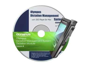 Olympus Dictation Management System R6 (ODMS) DSS Dictation Software AS-7001