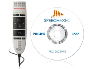Philips LFH-3205 Speechmike USB Dictation Microphone LFH3205