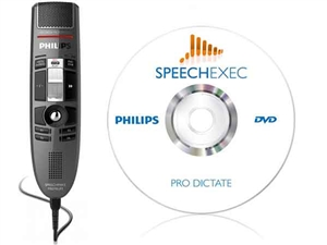 Philips LFH-3515 SpeechMike Premium Slide Switch with SpeechExec Diciation Software